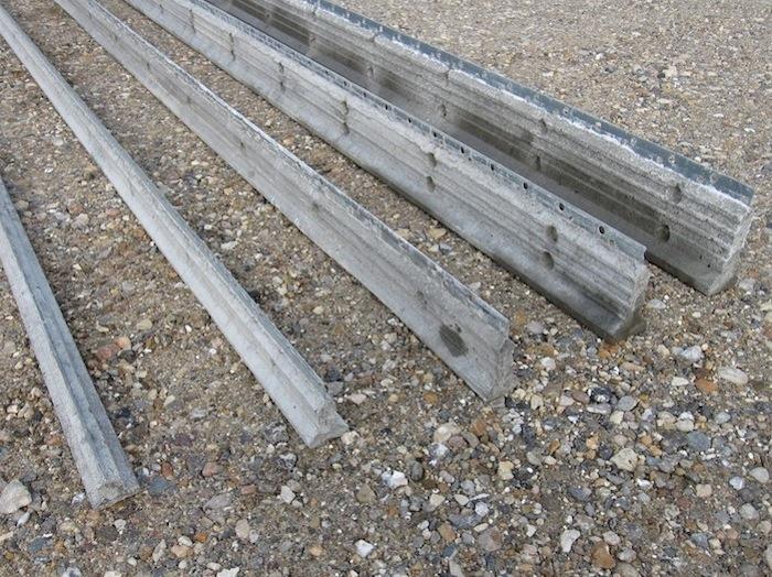 Stolper galvaniseret stål